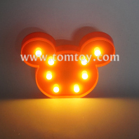 mickey led night light tm06489