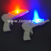 mini led space blaster ray gun with sound tm304-001
