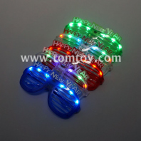 mixed led colorful new year glasses tm00894