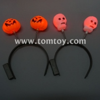 mixed led pumpkin&ghosts hairband tm02922