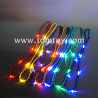 multi color light up beads necklace tm04928