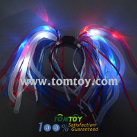 multi-colored led light up party dreads tm00327-rwb
