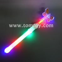 multicolor led butterfly wand tm04514