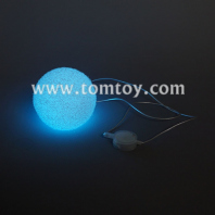 multicolor led foam ball necklace tm00057