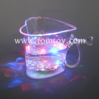 multicolor light up cup-heart tm02916