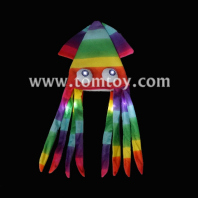 neon led light up squid hat tm02674