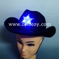 novelties light up men's adult cowboy hat tm02195