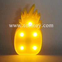 pineapple led night light tm06495