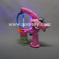 pink shark light up bubble gun tm02897