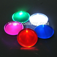 plastic led badge with safety pin tm003-031