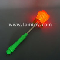 plastic led rose light up wand tm01403