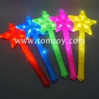 plastic led star wand tm04412