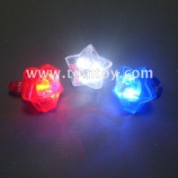 plastic star shape led rings tm00569-rwb
