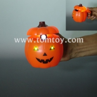 projection led pumpkin decoration pot tm289-004
