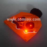 pumpkin light up knitted hat tm06437
