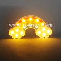 rainbow marquee led night light tm06490