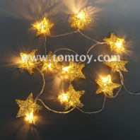 rattan star string lights tm04336