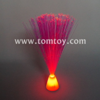 red fiber optic centerpiece lamp tm083-052-rd