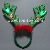 reindeer light up antlers headband tm206-033
