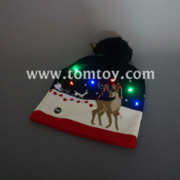 reindeer light up knitted hat tm04706