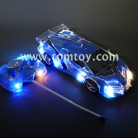remote control led flashing car tm269-007-bl