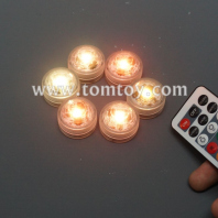 remote control led submersible light waterproof tm04264