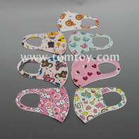 reusable print dust mask for kids tm06254