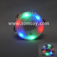 round lighted tambourine tm02374