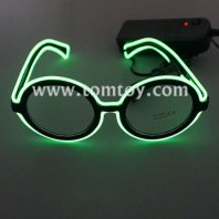 round shape el wire glasses tm03902
