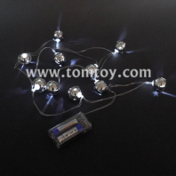silver bells led string lights tm06883
