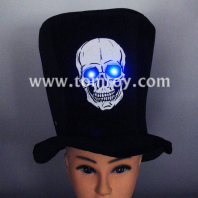 skull flashing costume top hat tm02187