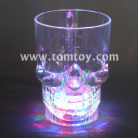 skull flashing led beer mug tm159-001