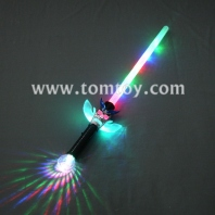 skull light up prism ball sword tm02598