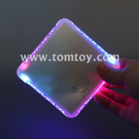 slim led square drink coaster tm01712
