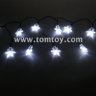 snowflake led string lights tm04346