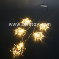 snowflake light up necklace tm05608