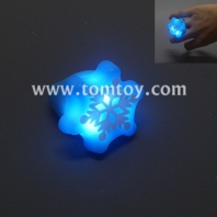 snowflake light up rings tm03035