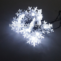 snowflake light up string lights tm04350