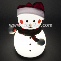 snowman touch night lamp tm06974
