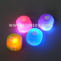soft flashing led lights dice tm034-009