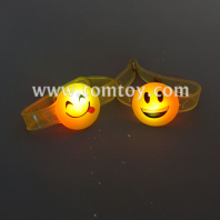 soft led smiley-face bracelet tm03407