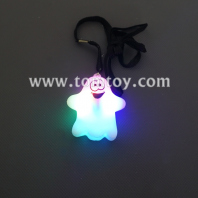 soft light up ghost necklace tm05643