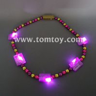 square led bead necklace tm083-046