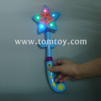 star shape led bubble wand tm02256