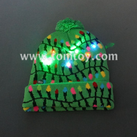 string lights knitted hat tm06910