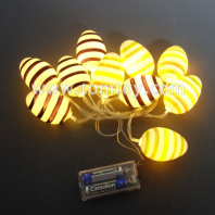 stripe easter egg led string lights tm06985