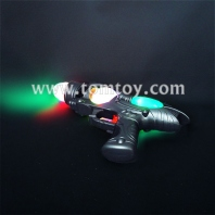 super spinning space gun with led light & sound tm02214