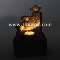 tabletop water fountain with led light tm06431