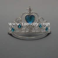 tiaras with heart stones tm03647-bl