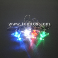 triangle cup light up necklace tm00743